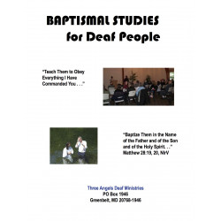 Easy-Reading Baptismal Studies